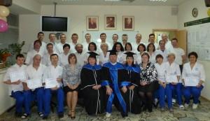 После вручения сертификатов об окончании бакалавриата МАО